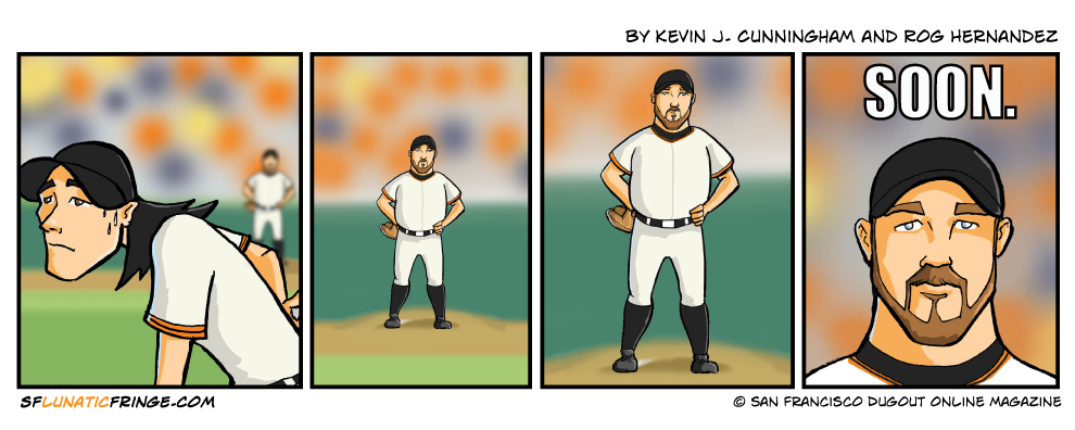 WARNING: This strip not suitable for Chris Lincecum