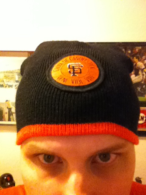 This is a Croix-De-Candlestick Knit Cap. Got that Google? Bing? I can't believe y'all were missing this.