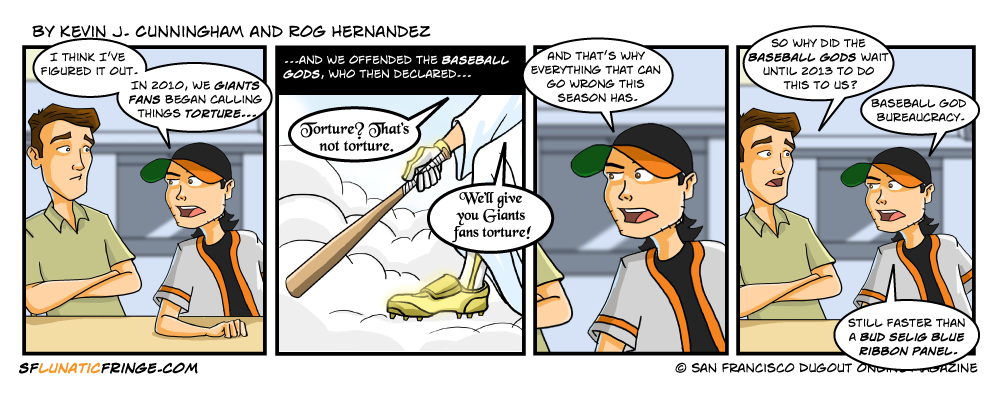 Baseball God is Angry!